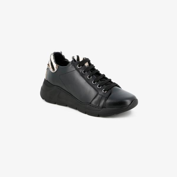 Grunland - Sneaker con dettaglio zebrato